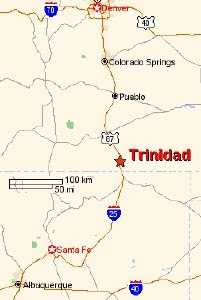 Trinidad map