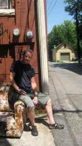 Matt in alley