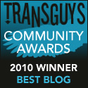 TransGuys Community Awards Nominee